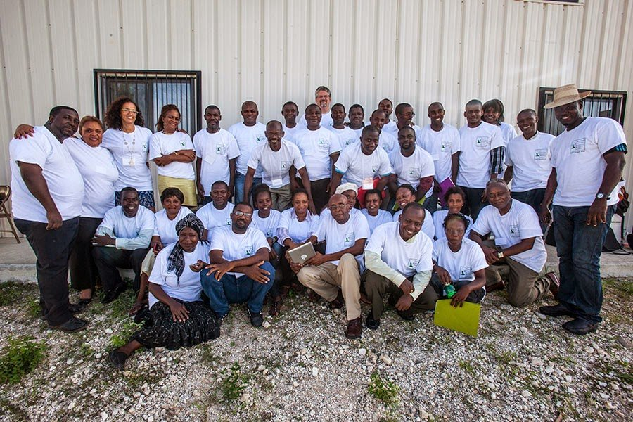 ESPWA Haiti, Local leaders discussing the Community Initiative